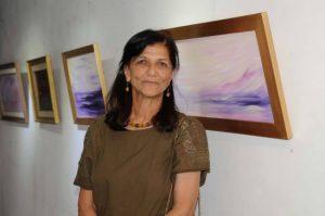 الفنانة التشكيلية ماجدة سعد الدين : بدايات الأشياء قد تكون في لحظة هي نهايتها