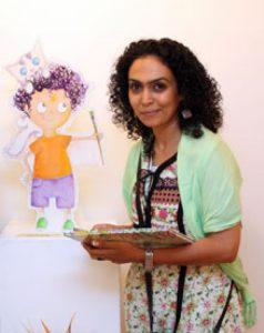 سحر عبد الله: رسام الأطفال يبدع لوحته برؤية طفل وحرفية فنان!