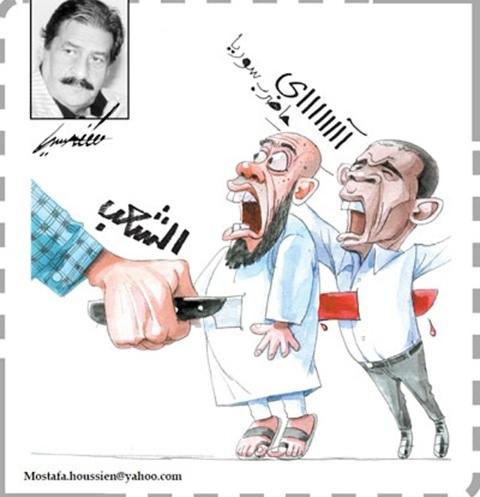 موقع الكتابة الثقافي كاريكاتير 12