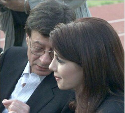 محمود درويش وماجدة الرومي