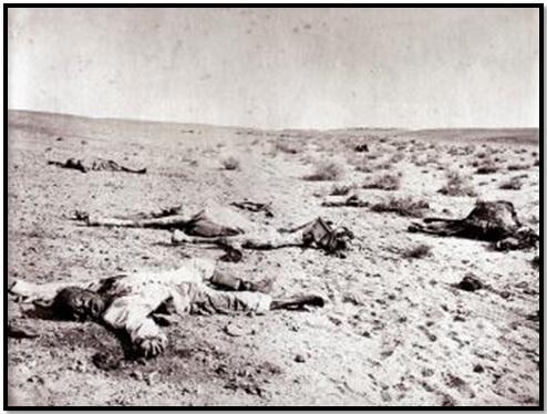 صورة نادرة لما بعد معركة التل الكبير - تصوير هيبوليت أرنو